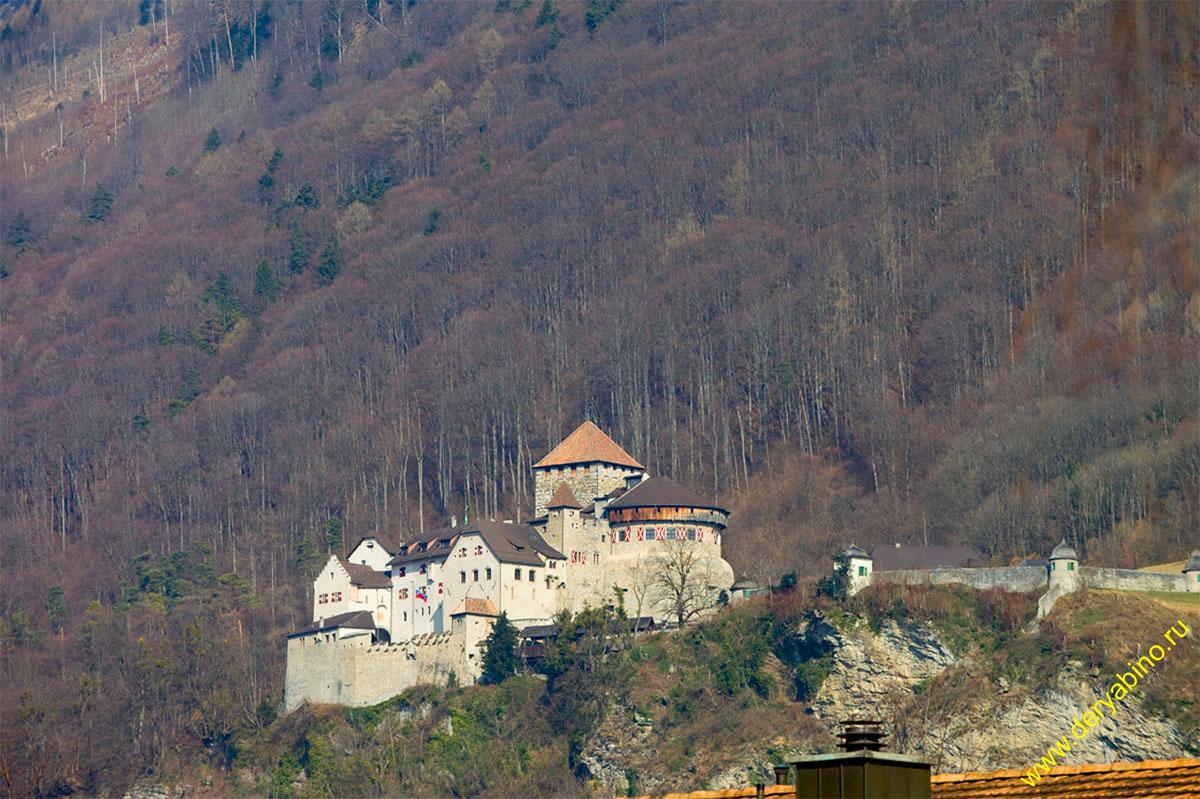 Лихтенштейн Liechtenstein Замок Vaduz Вадуц