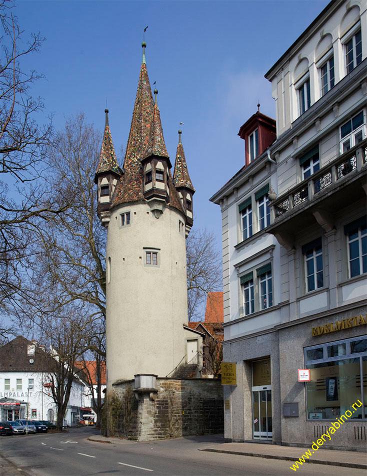 Линдау Воровская башня Diebsturm