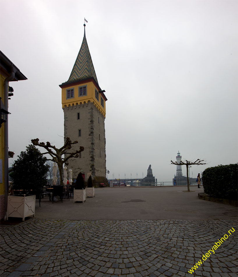 Линдау Башня Мангтурм Mangturm