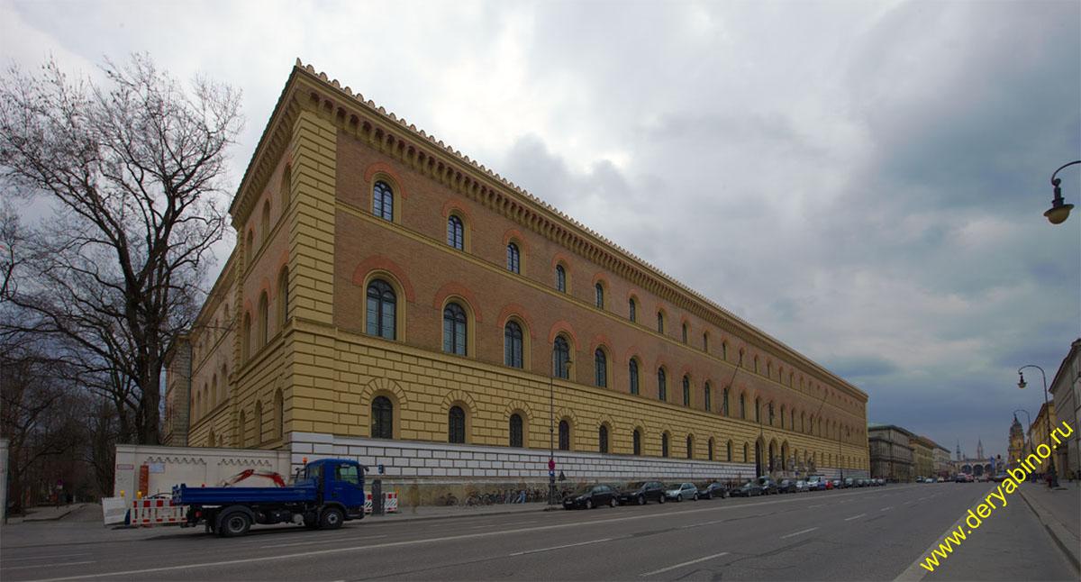 Мюнхен Баварская государственная библиотека