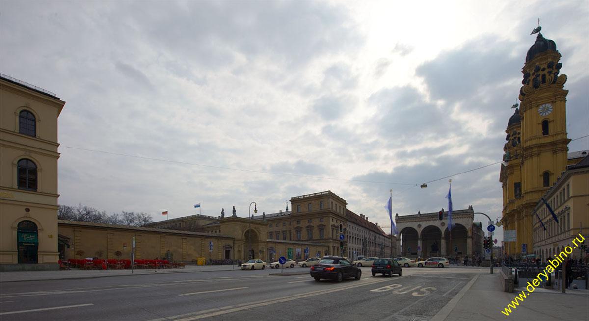 Мюнхен Площадь Одеона