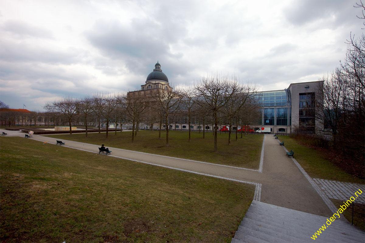 Мюнхен Баварская государственная канцелярия