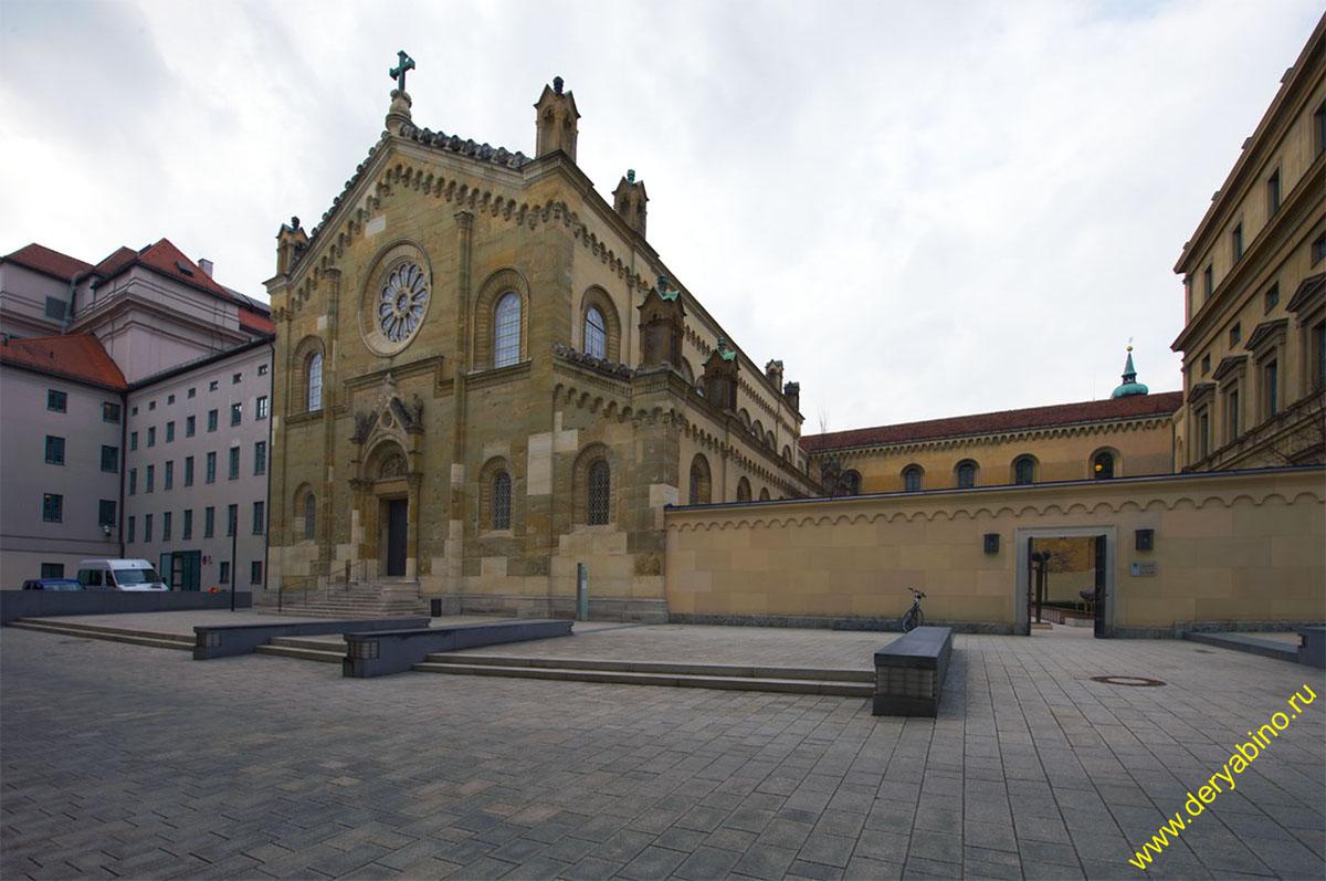 Мюнхен Allerheiligen-Hofkirche