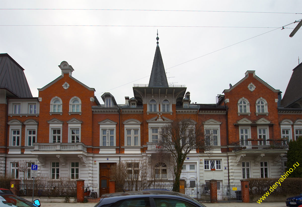 Мюнхен Kaiserstrasse