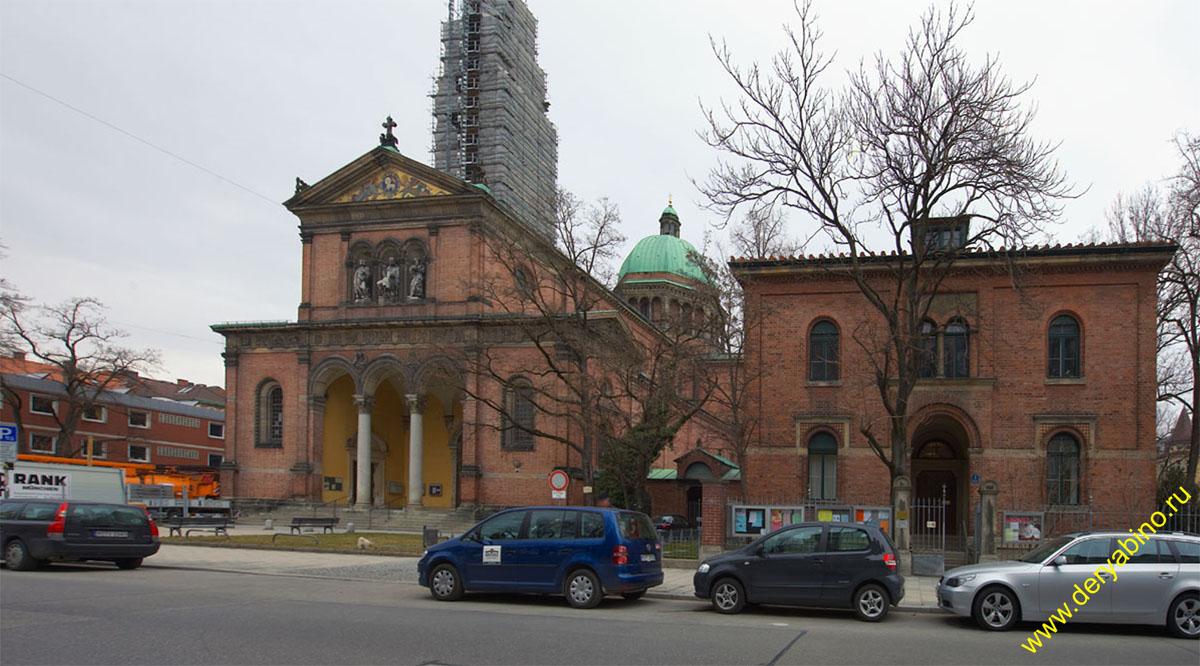 Мюнхен церковь св.Урсулы st Ursula