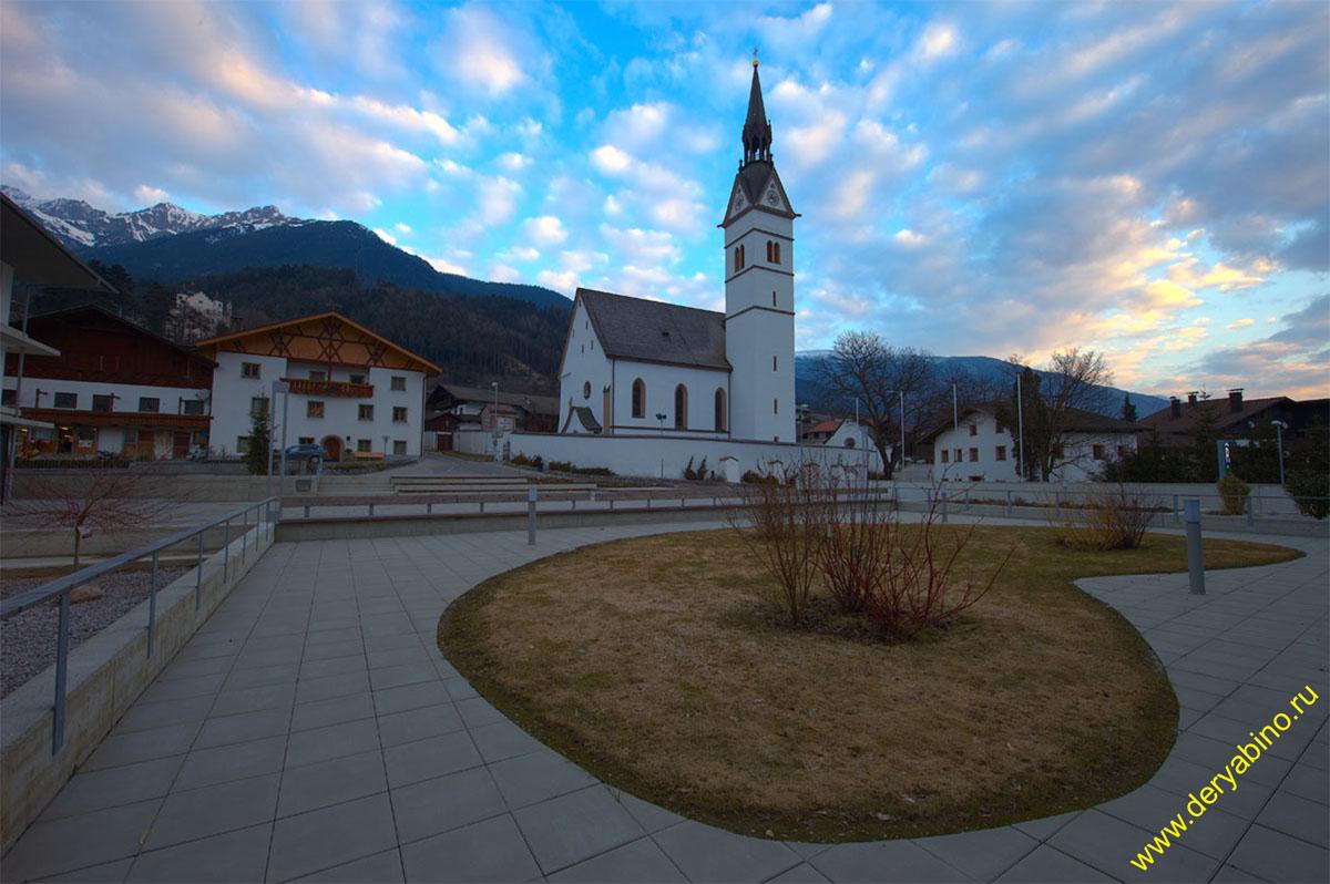 Фомп Vomp Kirche St. Peter und Paul