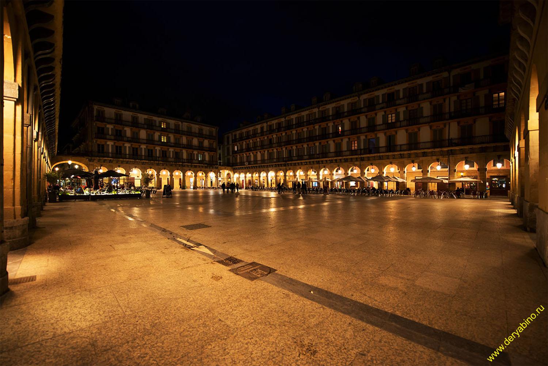 Plaza de la Constitucion Страна Басков Basque Country Сан-Себастьян San Sebastian