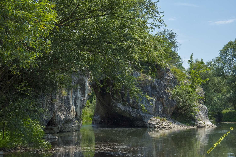 Скальный феномен Каменный мост Дупката