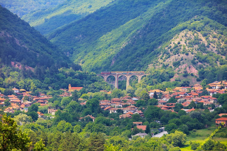 Железнодорожный мост в селе Буново