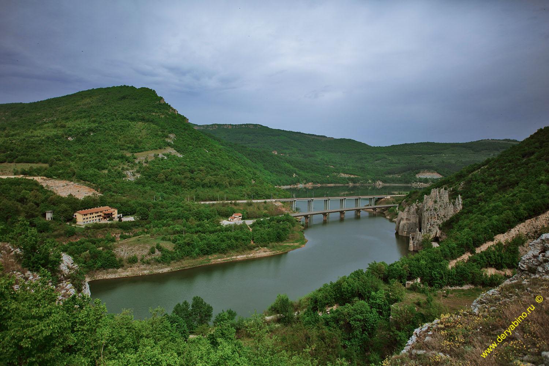 мосты через Цоневское водохранилище