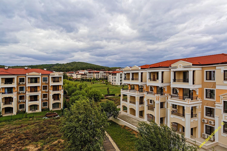Гора Шарлан-Баир Грин Лайф бийч ресорт Болгария Green Life Beach Resort Bulgaria