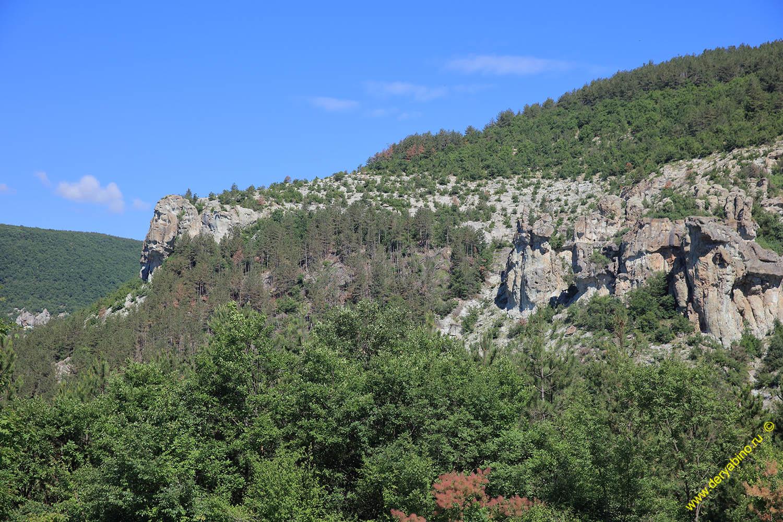 Скалы у села Даждовница Kardzhali Кърджали