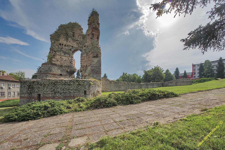 Руины крепости в г.Кула Болгария Bulgaria