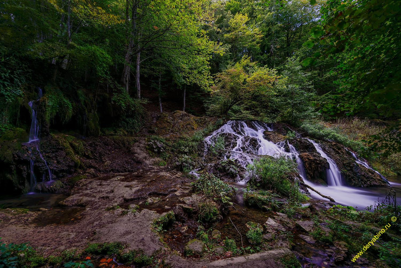Малко-Тырново Водопад Докузак Болгария Malko-Tarnovo Bulgaria