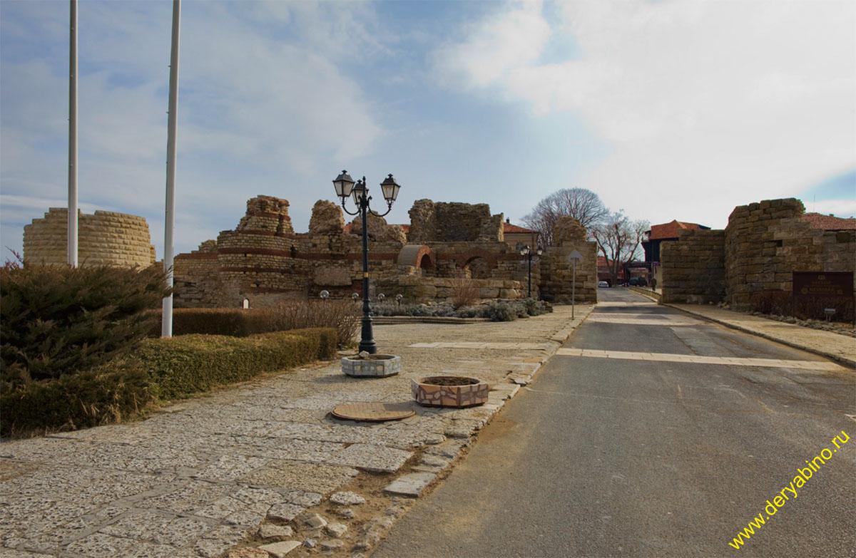 Несебр Болгария Nesebar Bulgaria