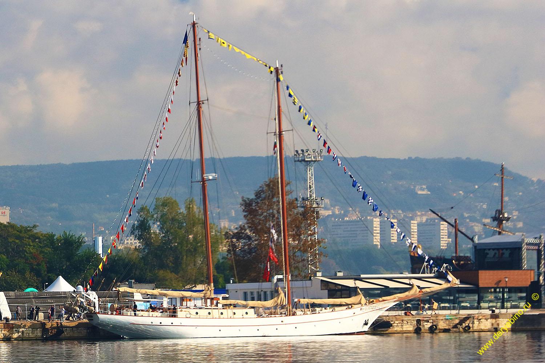 Черноморская регата больших парусников 2016