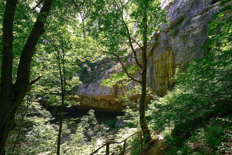 Водопад у села Веселиново