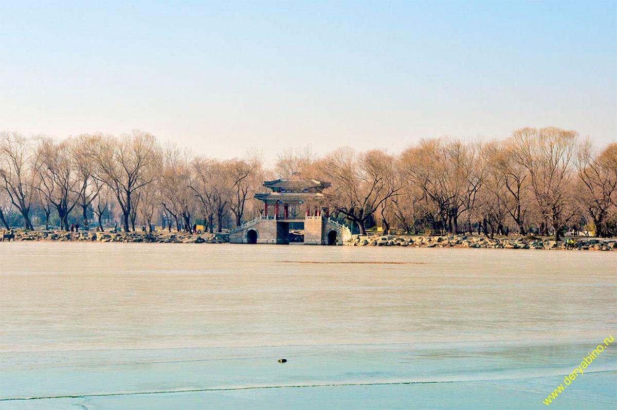 Летний Дворец Пекин Китай China Beijing