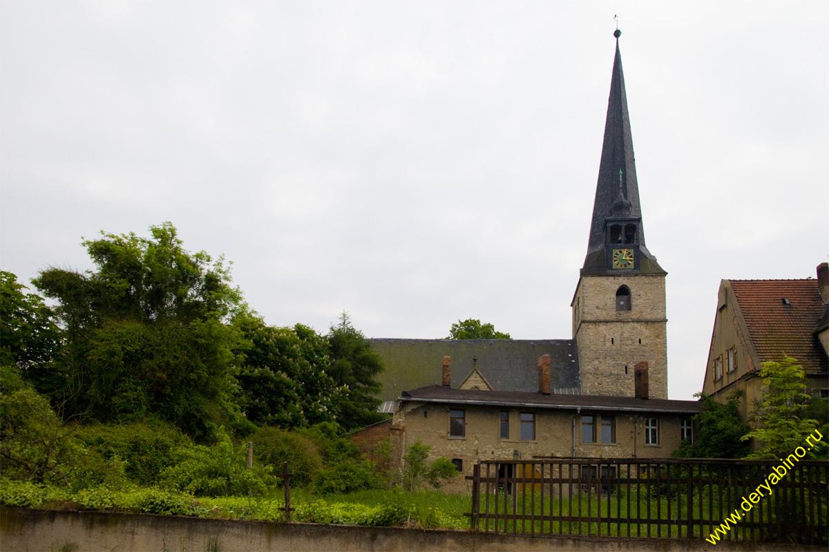 ����� �������� (Cochstedt), Sankt Stephani Kirche im Cochshtedt 1368 Baus ����� Kirche