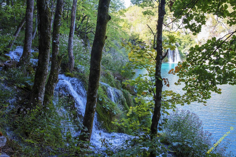 Хорватия Плитвицкие озера Croatia