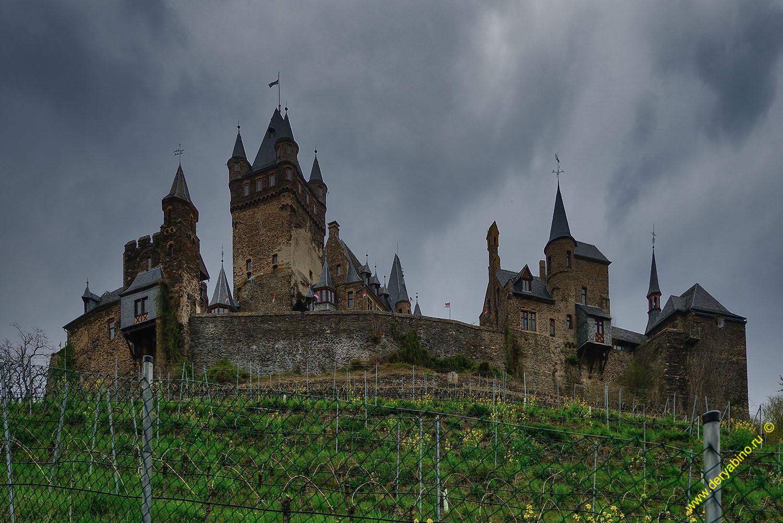 Замок Кохем Reichsburg Cochem