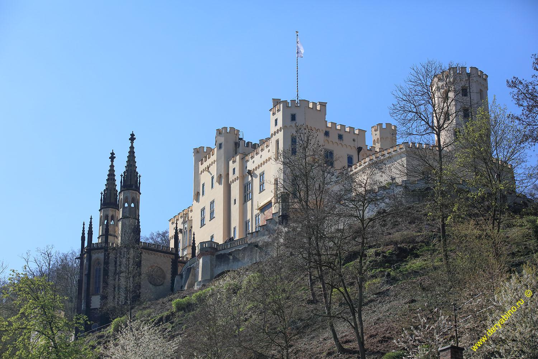 Замок Штольценфельс Schloss Stolzenfels