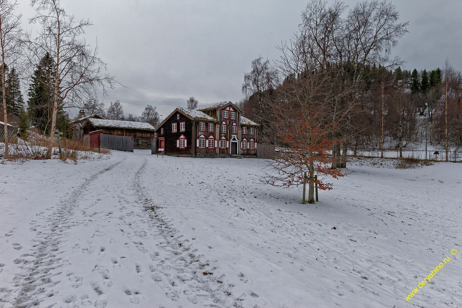Sverresborg Norway Сверресборг Норвегия