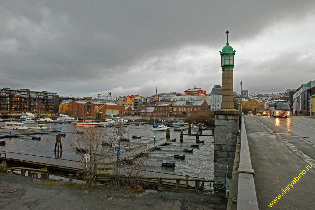 Тронхейм Норвегия Trondheim Norway