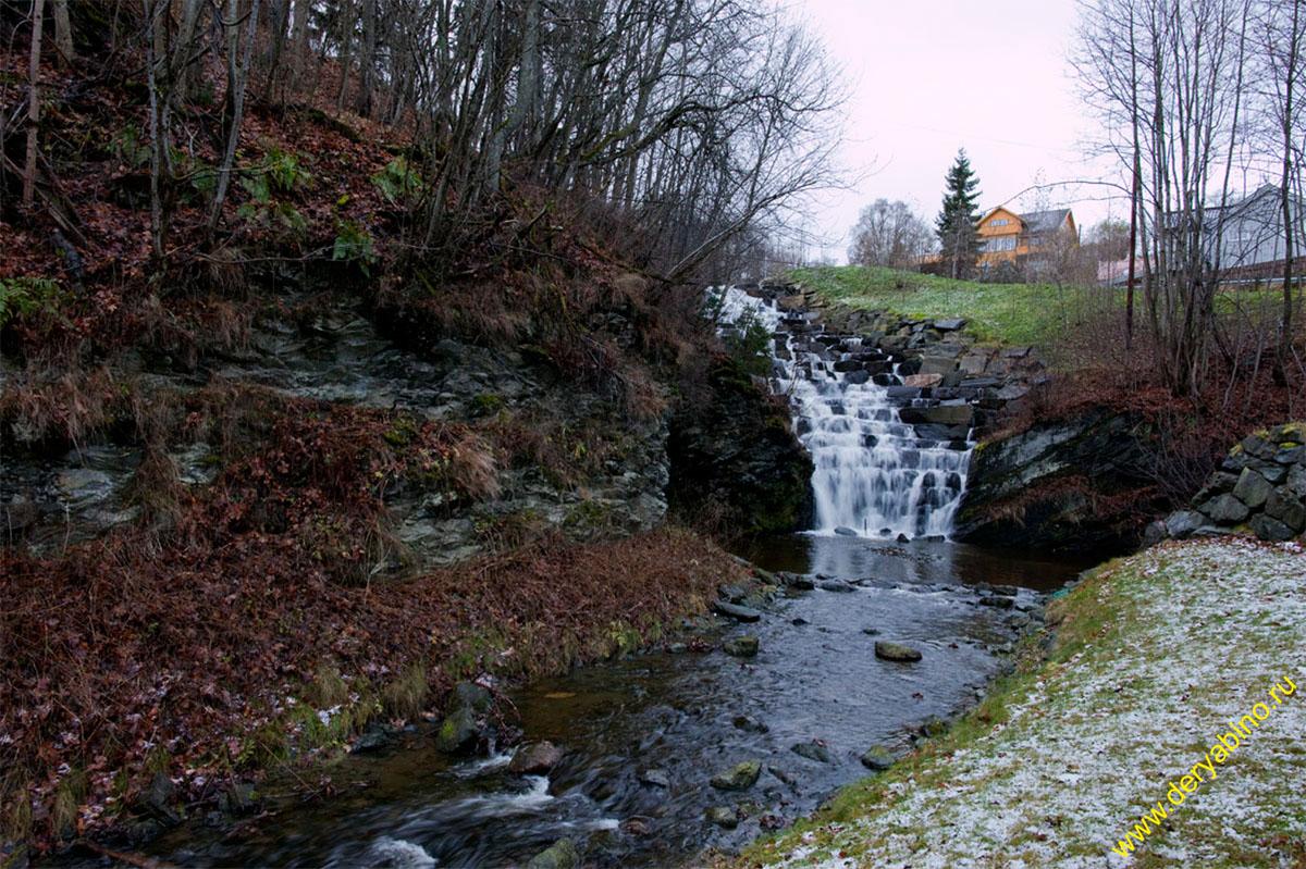 Тронхейм Норвегия Ilaparken Trondheim Norway