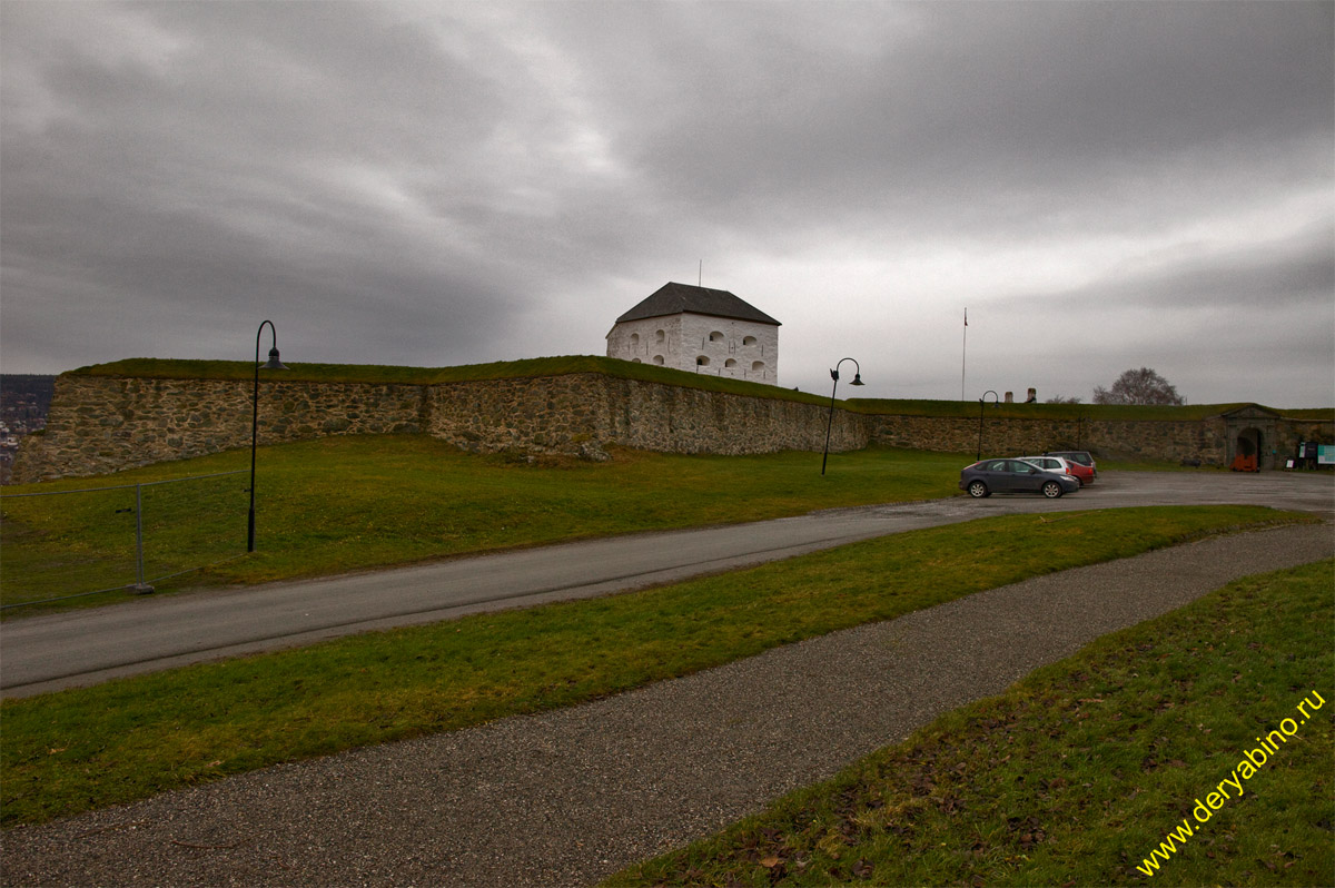 Тронхейм Норвегия Trondheim Norway Форт Кристиансен Kristiansten Fortress