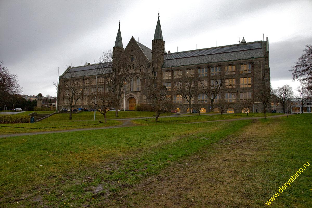 Тронхейм Норвегия Trondheim Norway Норвежский университет естественных и технических наук NTNU
