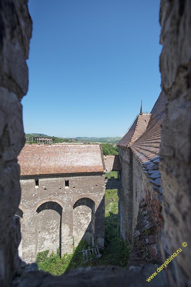 Замок Корвинов Corvin Castle Румыния Romania